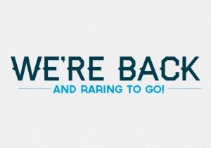 We're Back - RTG!