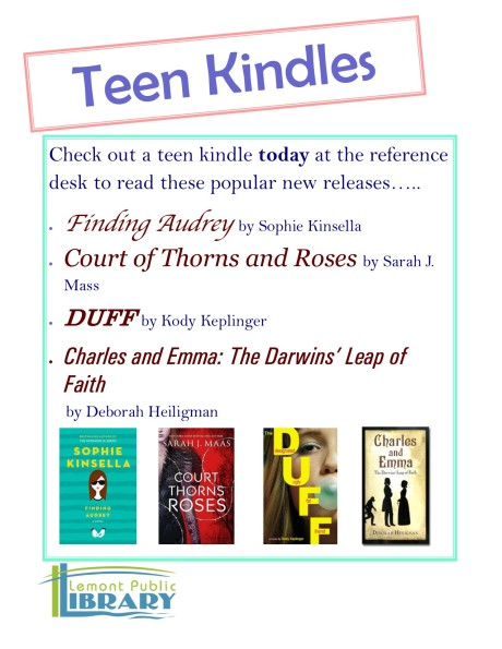 Teen Kindle New Titles