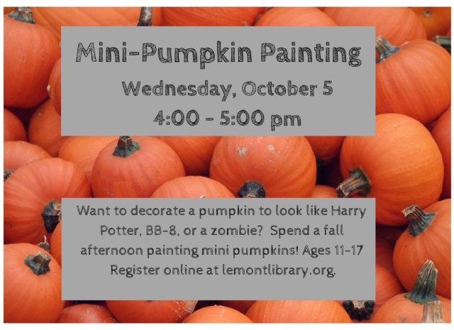 Mini-Pumpkin Painting
