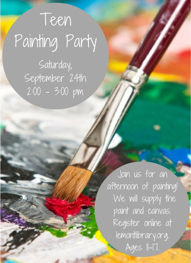 Teen Painting Party