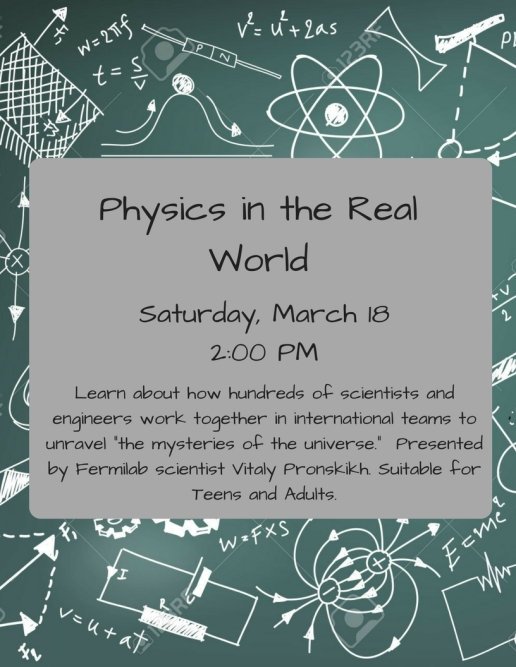 Physics in the Real World