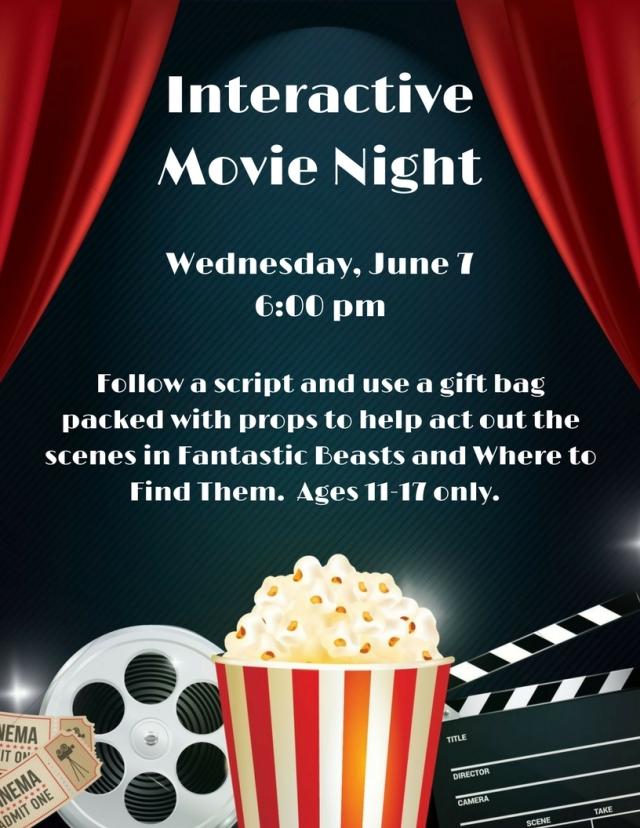 Interactive Movie Night