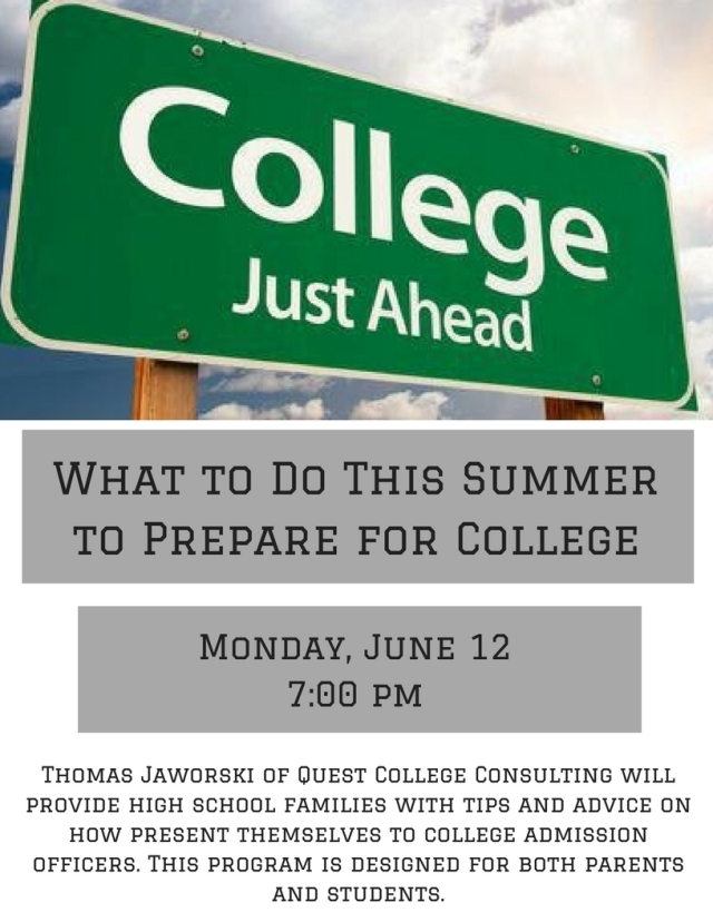 What to Do This Summer to Prepare for College