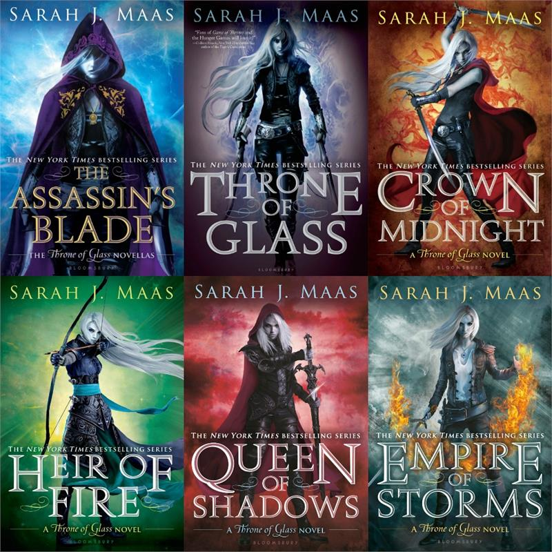 Throne Of Glass Series Library T