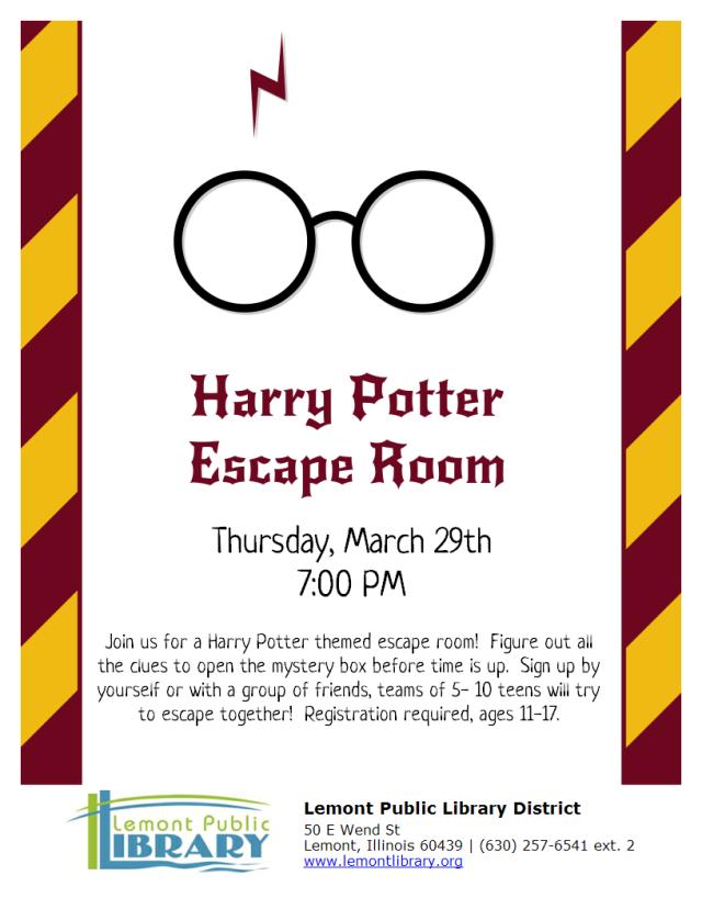 HP Escape Room