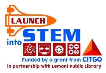 Launch into STEM Logos