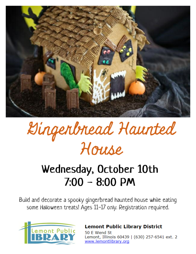 Gingerbread Haunted House