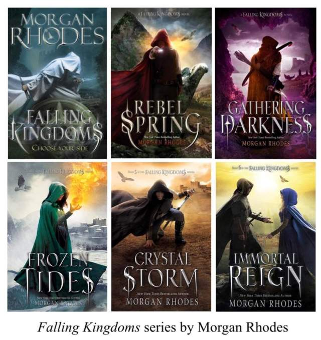 Falling Kingdoms Books
