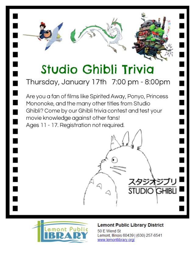Ghibli Trivia