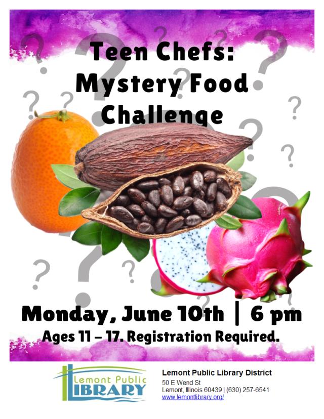 Mystery Food Challenge