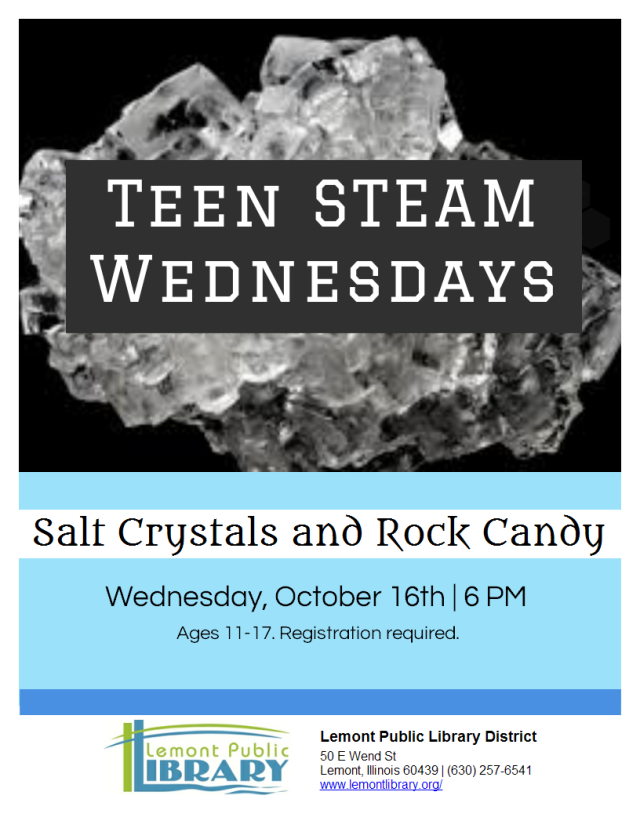 Salt Crystals and Rock Candy