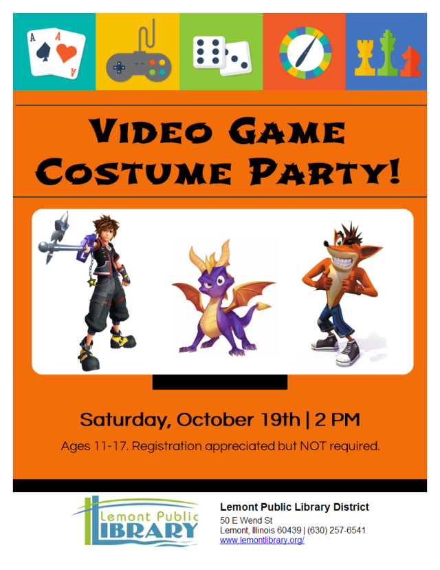 Video Game Costume Party